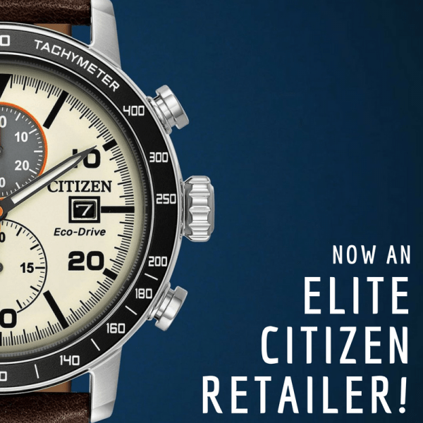 The Jewelry Center is now an official Citizen Elite Retailer!