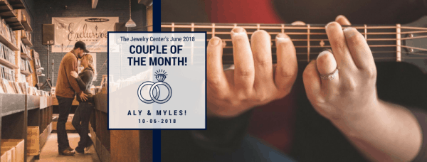 June 2018 Couple of the Month – Aly and Myles!
