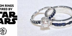 Custom Rings Inspired by Star Wars!