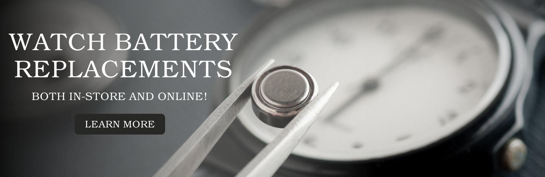 Watch Battery Replacements