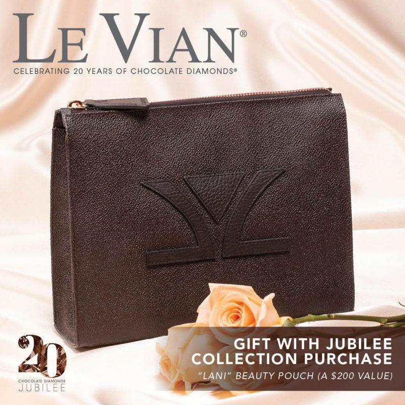 Free LeVian Lani Beauty Pouch