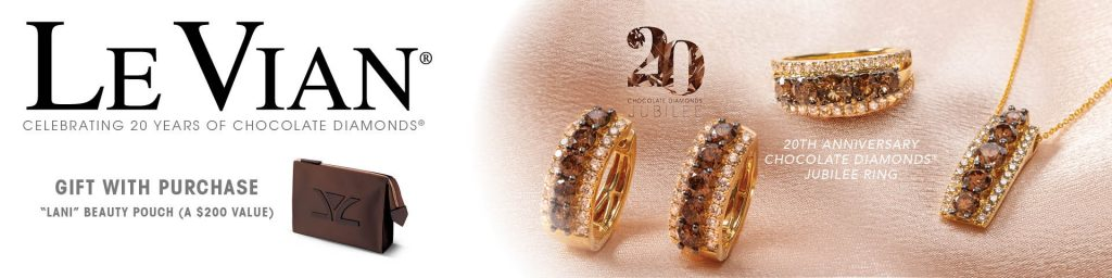 LeVian Jubilee - 20 Years of Chocolate Diamonds at The Jewelry Center