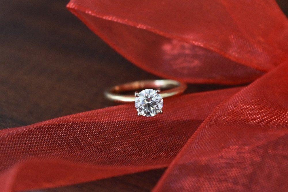 1ct Lab Grown Diamond Ring