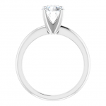 Solitaire Engagement Ring with 1ct Lab Grown Diamond