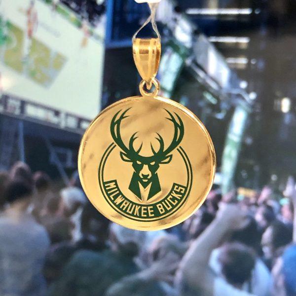 Milwaukee Bucks Pendant